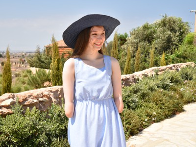 Darina - Blue Dress