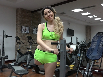 Previewclip Arina - Gym